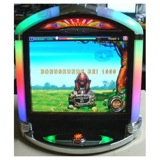 JVL Retro<br /><br />The Retro has a 17-inch LCD, power pad and software that contains over 120 games. The cabinet was designed to emulate the old bubble jukebox.