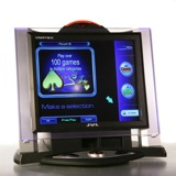 JVL Vortex<br /><br />The Vortex has a 17-inch LCD, power pad, and software that contains over 120 games. The cabinet was designed to be sleek and charming.