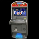 This new cabinet style includes a 26-inch widescreen HD monitor, option of playing on the LCD or control panel,  and bill acceptor that accepts 1's, 5's, 10's, & 20's. The software set includes new titles such as <em>Pirogue Poker, Payline Poker II, Spillover Deluxe & Peter Jacobson</em>, as well as the classic titles <em>Deuces Wild & Jacks or Better</em> with a Maximum payout $1,000.00.<br /><br />Dimensions: 64-inches H x 25 1/2-inches D, 28-inches W
