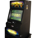 VLC 8828<br /><br />Features include a 19-inch CRT touchscreen, bill acceptor that accepts 1's, 5's, 10's, & 20's. Bill units have been upgraded to accept all new currency. The software set includes popular titles such as <em>Joker's Gold, Flush Fever, Polly Poker, & Gopher Poker</em>. Maximum payout $500.00.<br /><br />Dimensions: 44.4-inches H x 20.4-inches W x 25.8-inches D, weight 240 lbs.