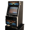 VLC 8724<br /><br />Features include a chrome finish, 19-inch CRT touchscreen, bill acceptor that accepts all new forms of currency. The software set includes popular titles such as <em>Deuces Wild & Bayou Poker</em>. Maximum payout $500.00.<br /><br />Dimensions: 44.4-inches H x 20.4-inches W x 25.8-inches D, weight 240 lbs.