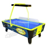 Valley Air Hockey<br /><br />Includes coin acceptor, UV coated playing surface, and blacklight graphics.<br /><br />Dimensions: 99 1/2-inches L x 51 1/2-inches W x 31-inches H (71-inches H with optional overhead), weight 429lbs (464lbs. with optional overhead.)